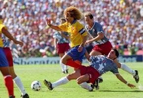 United States vs. Colombia, 1994 World Cup | Photo courtesy of Rose Bowl Stadium, Facebook